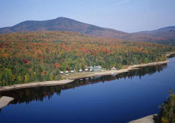 Bosebuck Mountain Camps On Aziscohos Lake