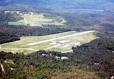 rangeley airport aerial