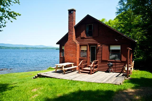 linn rental cabin on rangeley maine
