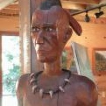 Logging museum dedicates 'Jerome, the Indian'