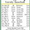 Rangeley Varsity Baseball