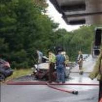 Speeding to blame for Avon crash