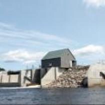 New construction unveiled at dam celebration