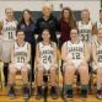 Rangeley girls' varsity basketball squad