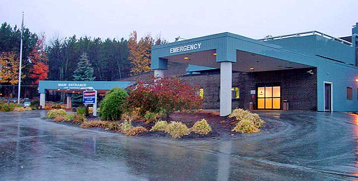 Franklin Memorial Hospital in Farmington, Maine