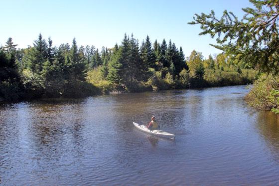 Kennebago River Paddling Trip Rangeley Maine Com