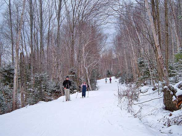 Rangeley Maine Cross Country Ski Trails
