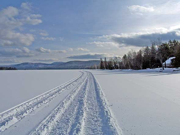 Rangeley Lake Snowmobile Trail
