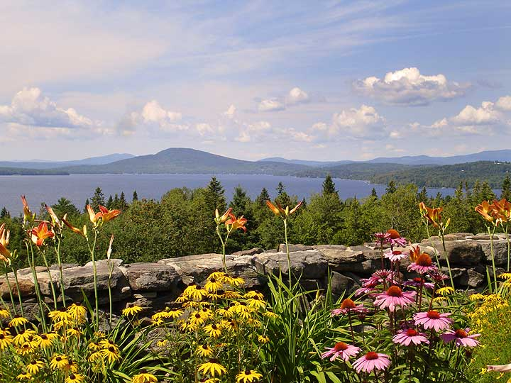 Rangeley Lake Scenic Overlook