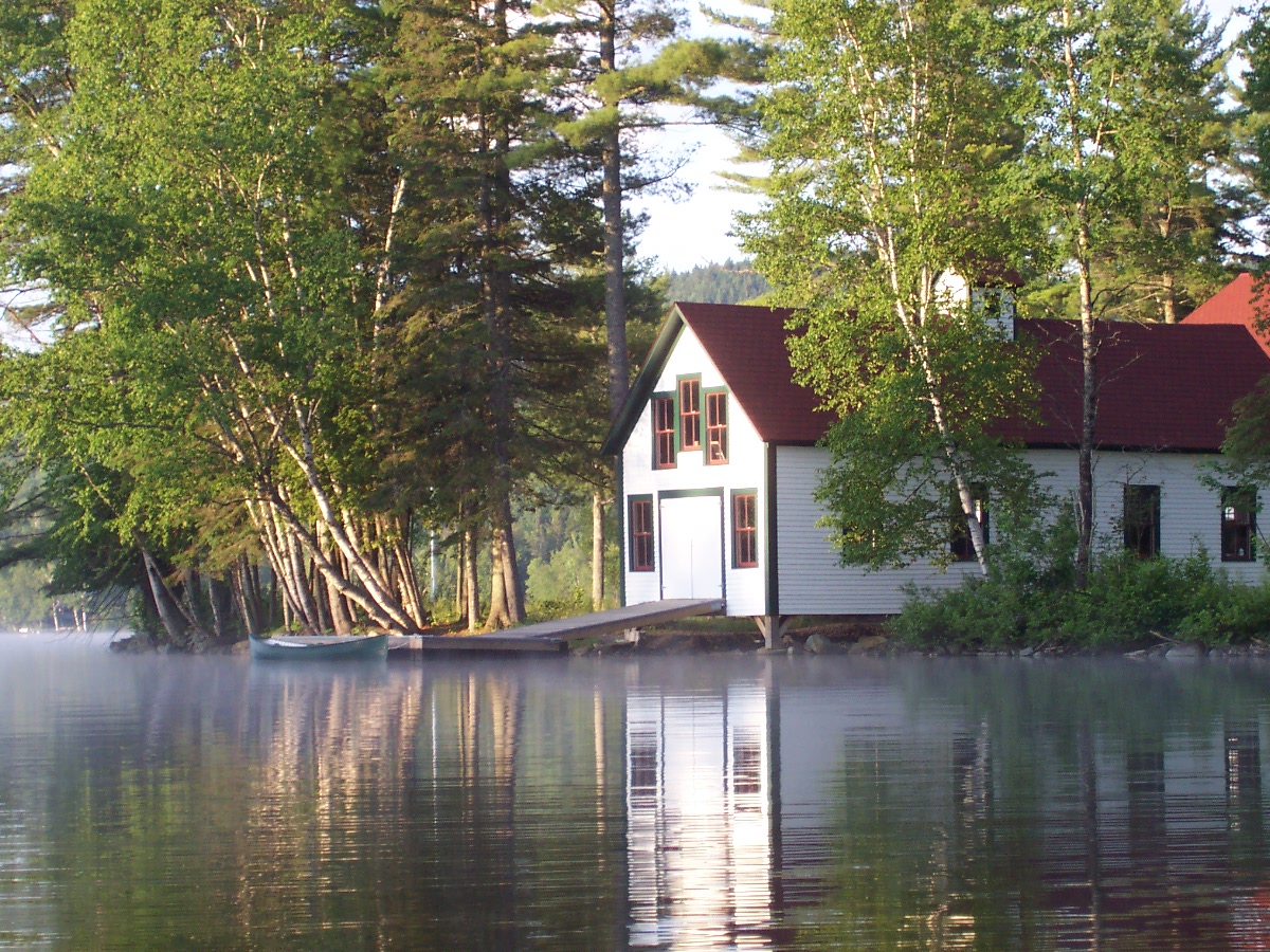Rangeley Lake Boathouse