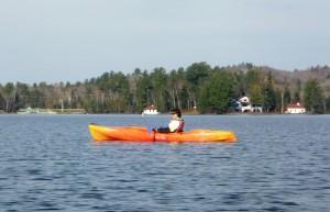 Oquossoc Cove Kayaking