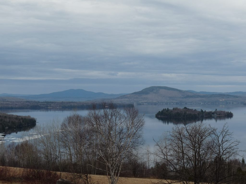 Rangeley Lake Ice Out 2016