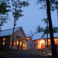 Summer at Poplar Falls Hut