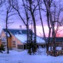 Winter at the Stratton Hut